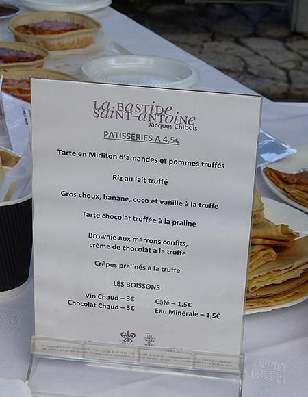 les pâtisseries de la Bastide
