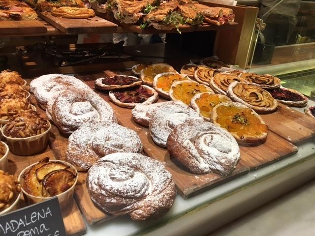 Pastries at Baluard at Hotel Praktik Bakery. An Unusual Way to Explore Barcelona