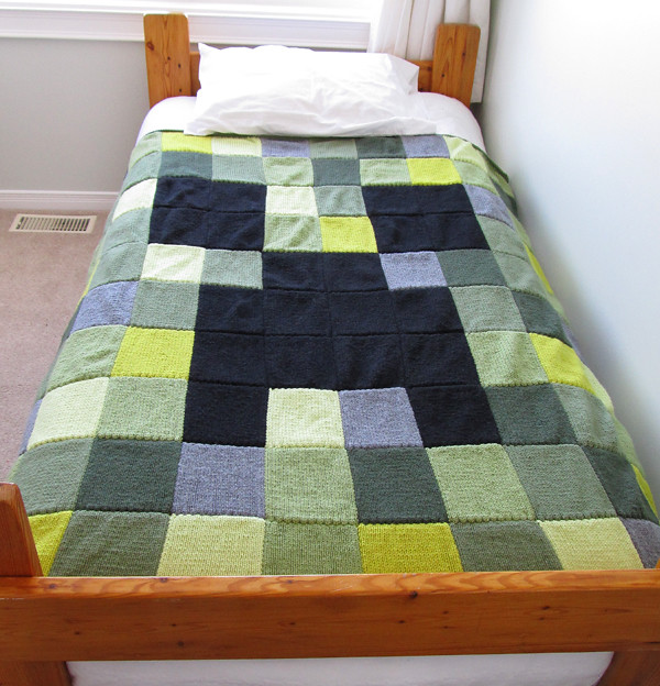 Minecraft Creeper Blanket – Own Two Hands