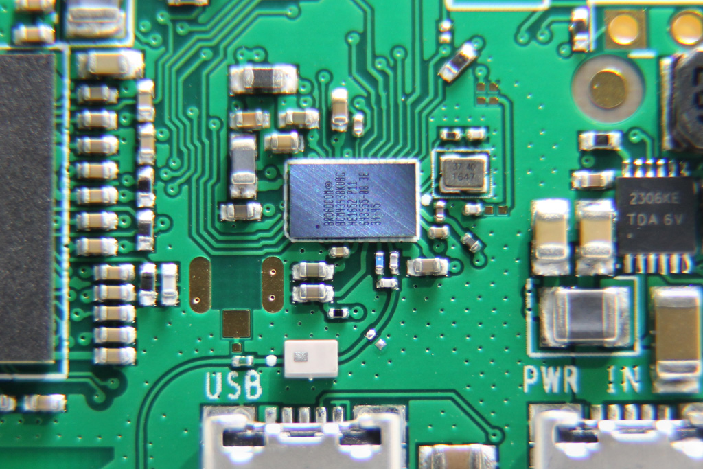 BCM43438 wireless chipset