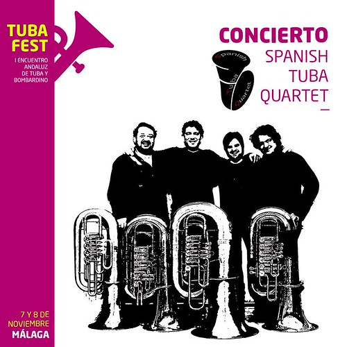 """Spanish Tuba Quartet Málaga 2015"