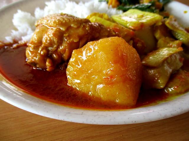 Noor Satay Islamic Cafe chicken curry