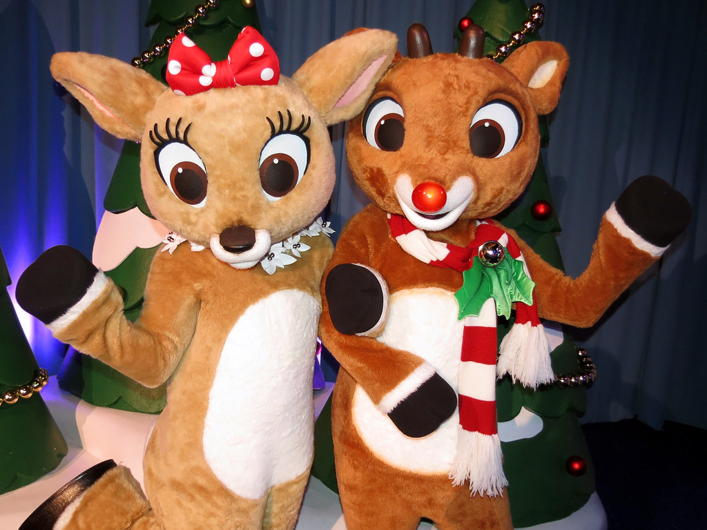 clarice and rudolph rudolph u0027s winter wonderland busch gar u2026 flickr