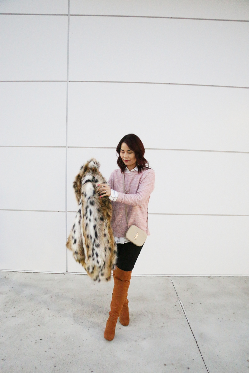 report-shoes-over-the-knee-boots-faux-leopard-print-coat-ysl-bag-3