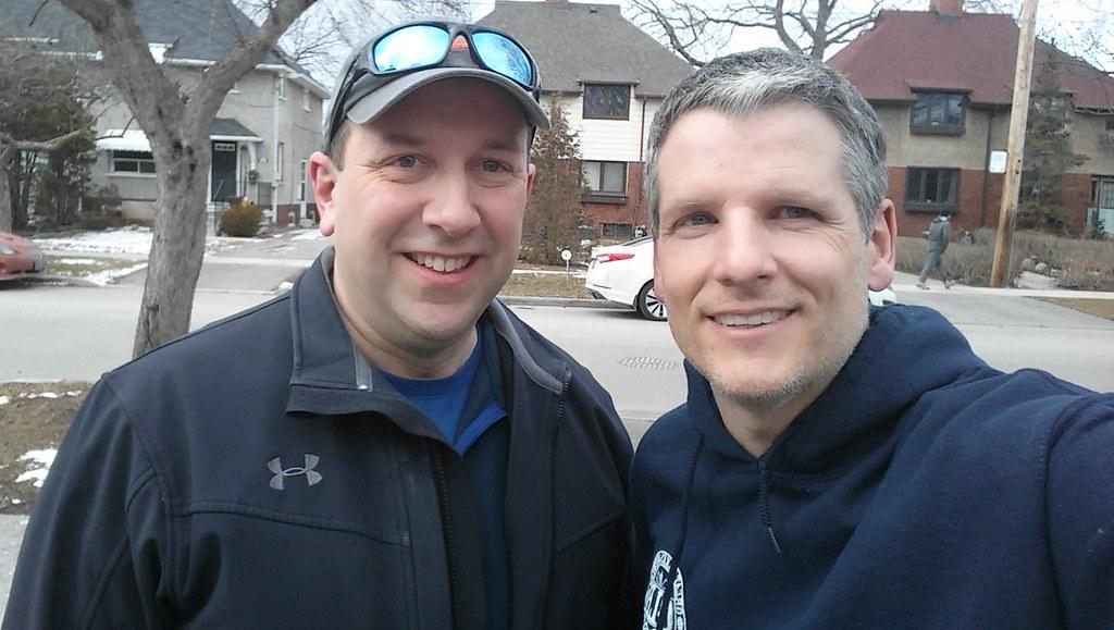 Bob Callahan and me