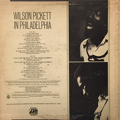 WILSON PICKET:IN PHILADELPHIA(JACKET B)