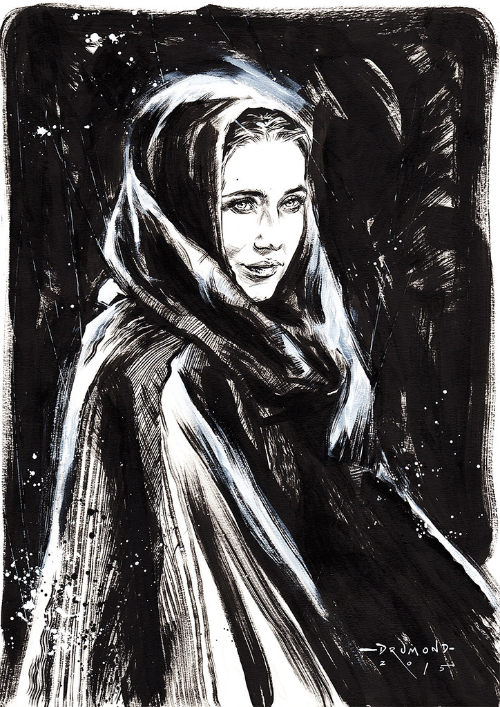 Game of Thrones by Drumond Art - Melisandre