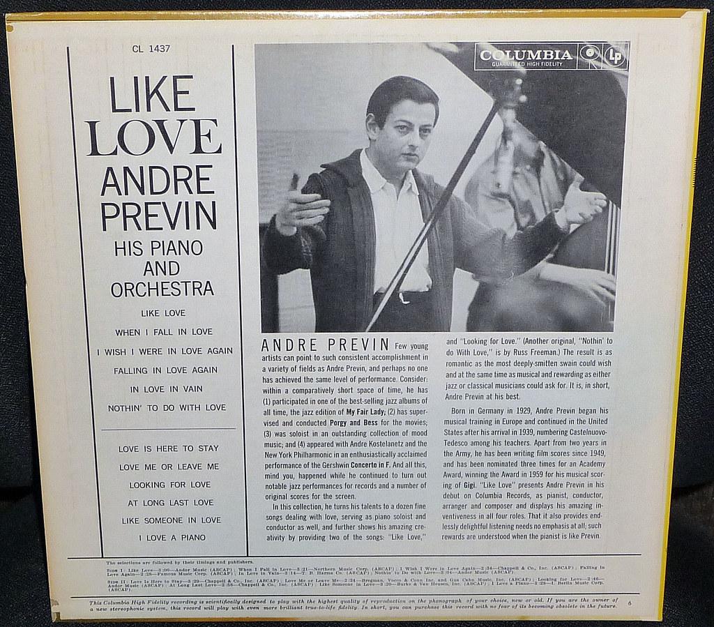 Andre Previn Record Cover 8 21 15 2