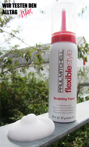 paul mitchell sculpting foam schaumfestiger jolie test www.wirtestendenalltag.blogspot.de
