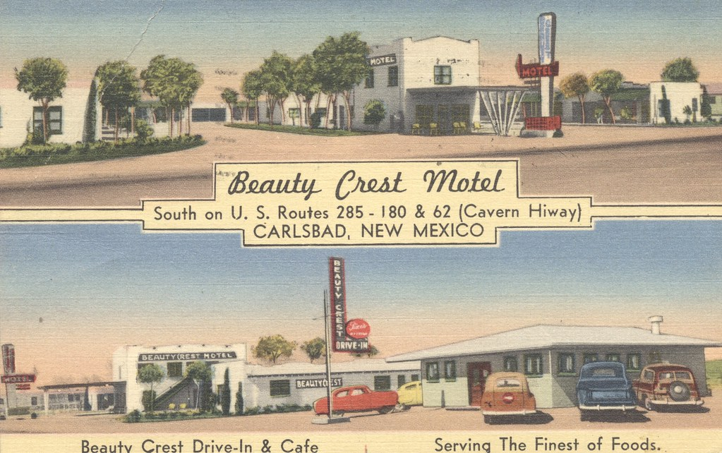 Beauty Crest Motel - Carlsbad, New Mexico
