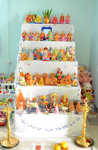 How to keep golu at home