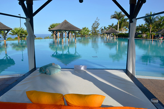 Infinity pool, Melia Gran Palacio, Alcala, Tenerife