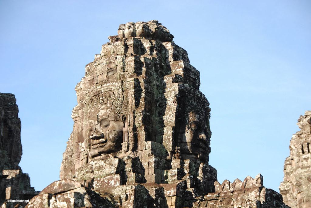 Bayon, Angkorin temppelit, Siem Reap, Kambodza