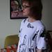 Megan Nielsen Sudley Dress in Contrado Comic Print