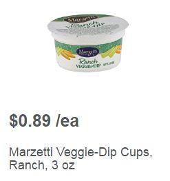 Free Marzetti Veggie Dip
