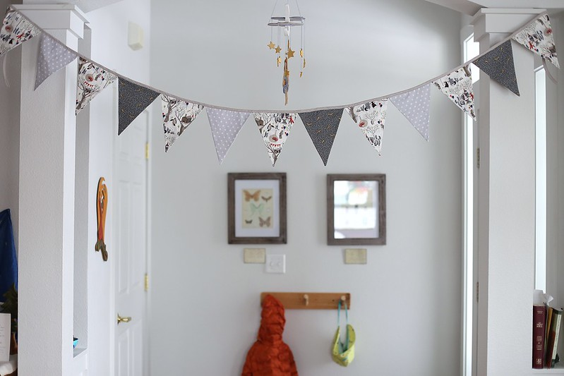 party bunting finished