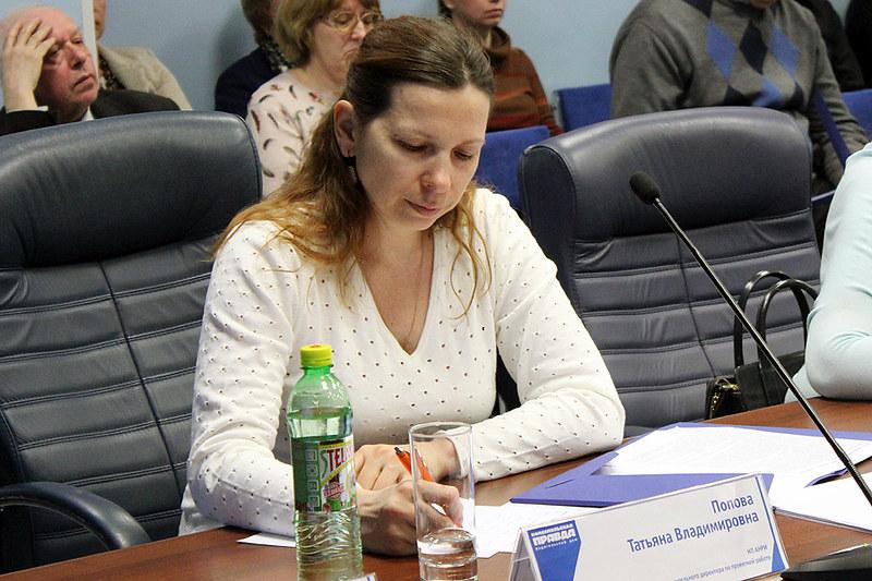 Татьяна Попова, НП АНРИ
