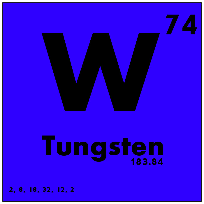 074 Tungsten Periodic Table Of Elements Watch Study Guid Flickr