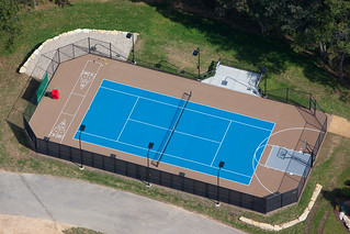 Residential Tennis Court | by MUNSON, INC.