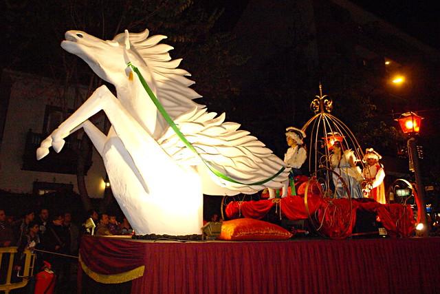 Los Reyes Magos parade, La Orotava, Tenerife
