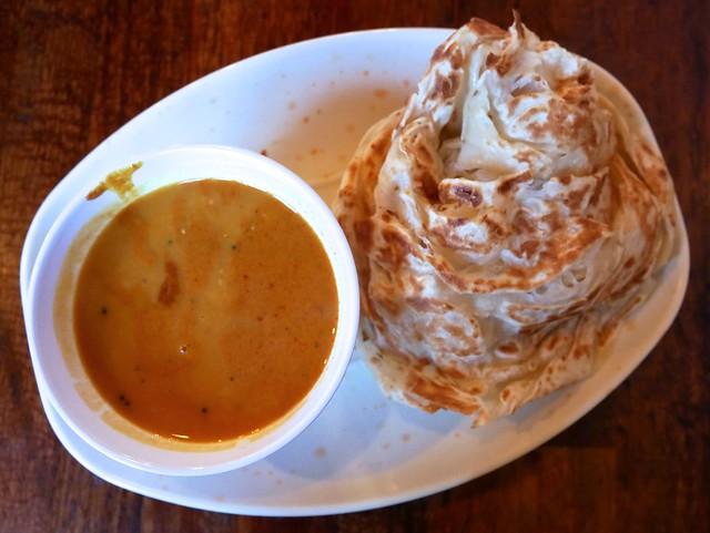 Roti Canai at Roti King