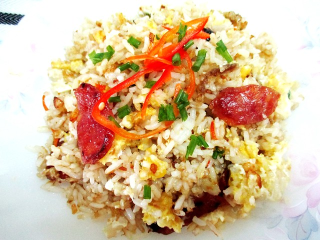 Lap cheong fried rice with Tamari suace 1