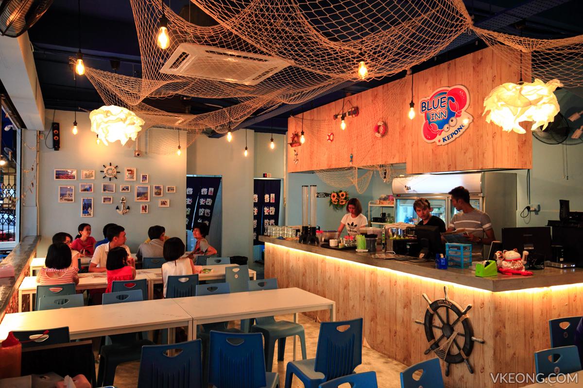 Blue Inn Seafood Restaurant Kepong