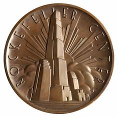 Lee Lawrie Rockefeller Center medal
