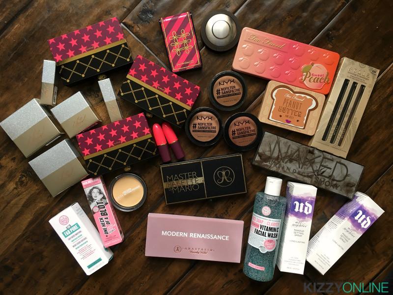 makeup skincare haul sephora ulta beauty macys