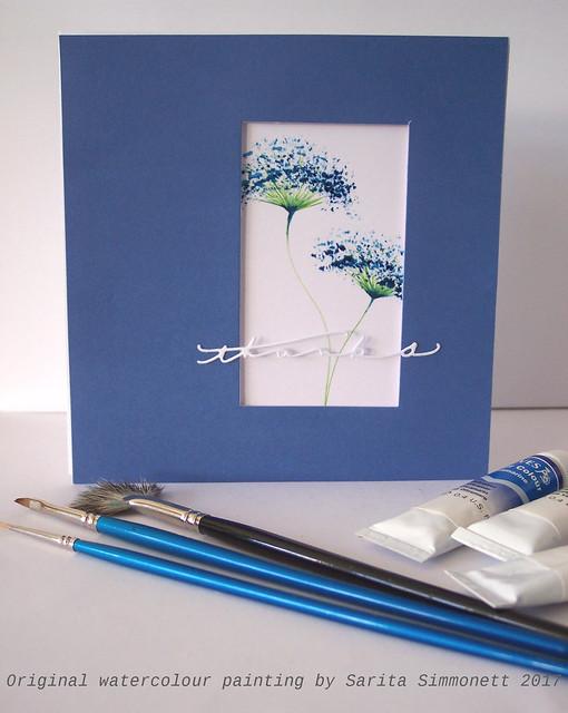 Watercolour flower 2a