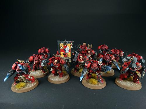 Warhammer 40K - Blood Angels Terminatoren