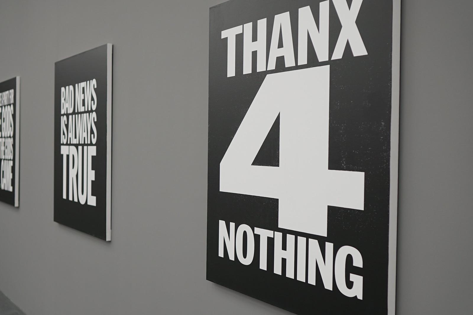 John Giorno at Galerie Eva Presenhuber