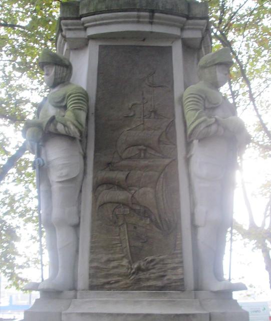 Avilés Statue Second Cartouche