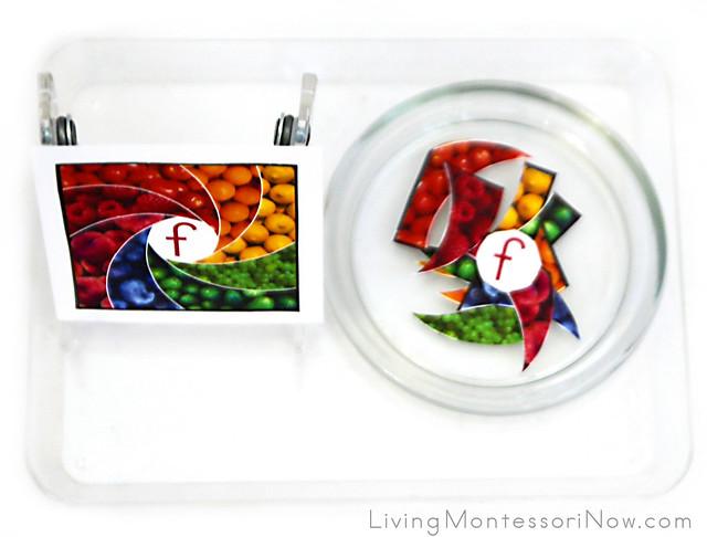 Rainbow Food Puzzle