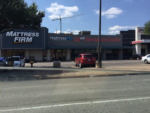 Mattress Firm next to another Mattress store