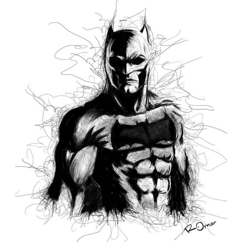 Batman dawn of justice batman dccomics draw drawing wacom