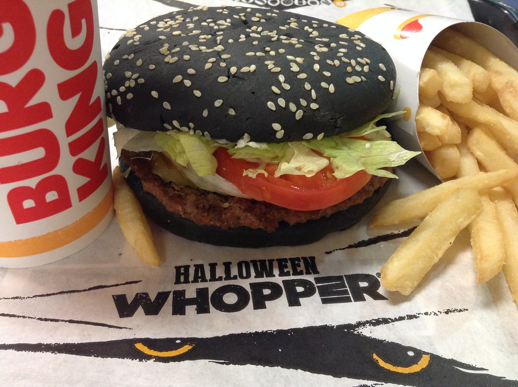 halloween whopper with cheese