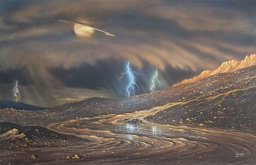 VCSE - Mai kép - Eső a Titánon