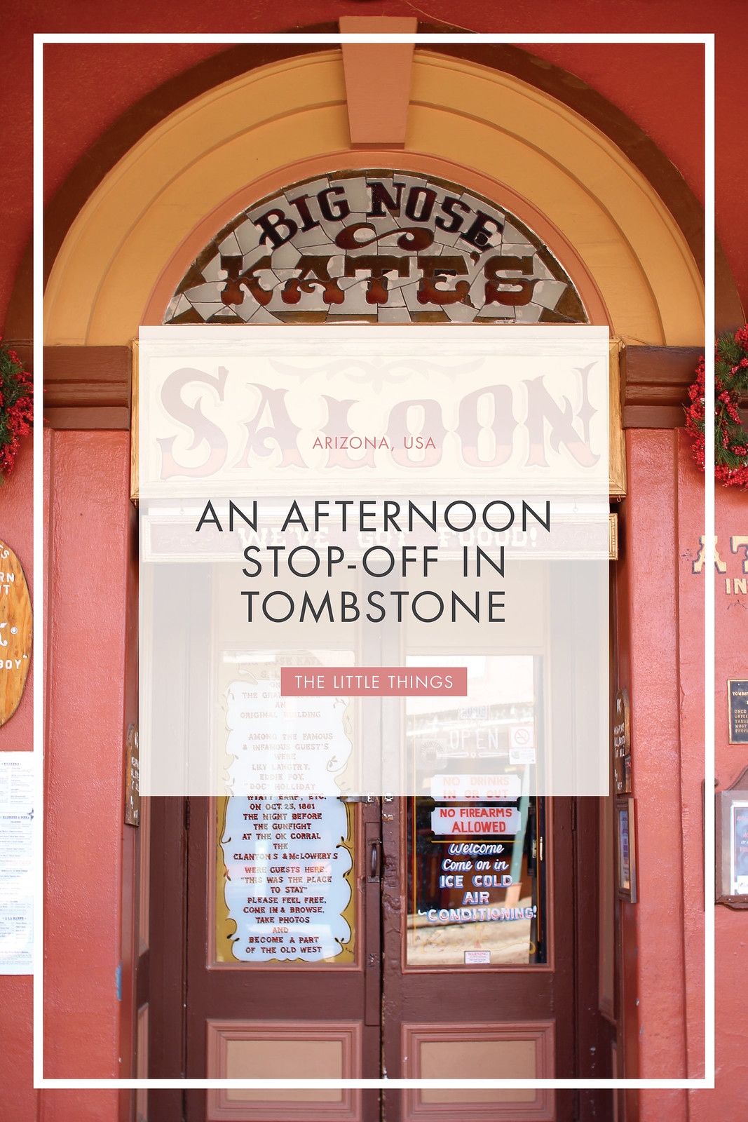 visit Tombstone USA Arizona travel blogger