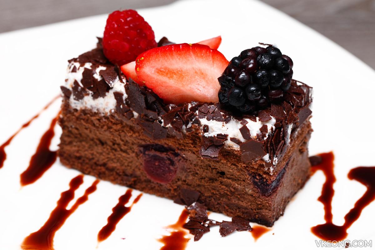 Breeze Bistro Bar Black Forest Cake