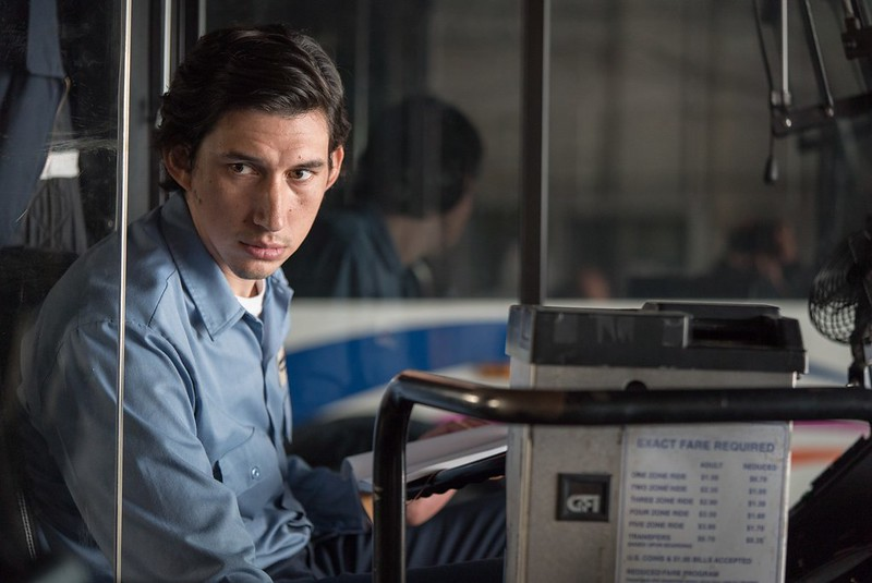 Adam Driver is a driver and Paterson in PATERSON.