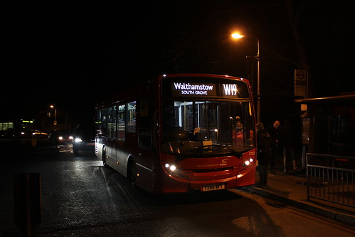 CT Plus 1222 on Route W19, Whipps Cross Hospital