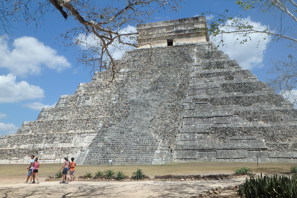 Chichen Itza. Complejo arqueológico Maya. Patrimonio de la Humanidad UNESCO