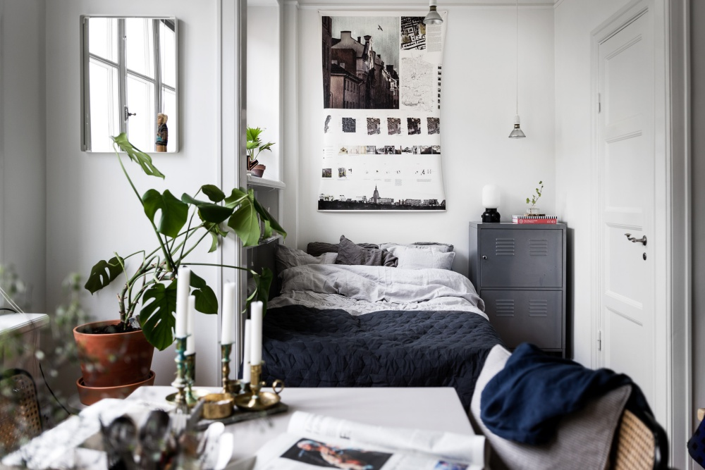 Stylish Small Scandinavian Apartment
