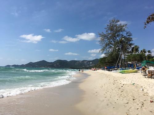 今日のサムイ島 3月9日 チャウエンビーチと明日の停電のお知らせ