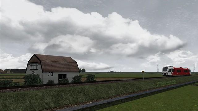 Train Simulator Arriva GTW Mantgum Leeuwarden