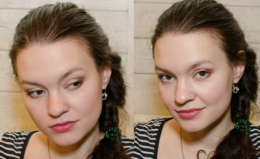 gucci magnetic eyeshadow duo 025 primrose свотчи