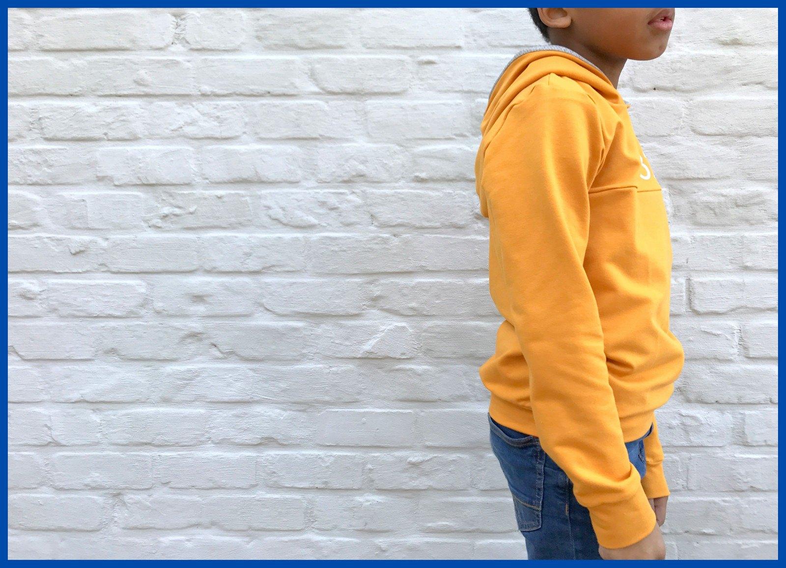 yellow hoodie 2