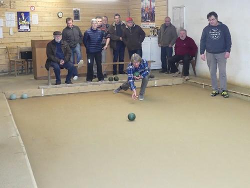 11/03/2017 - Plougasnou : Concours de boules plombées en doublettes mêlées