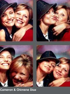 TRL Photobooth - Cameron & Chimene Diaz | stitchnhippo | Flickr
